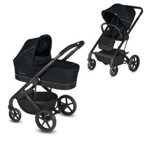 Wózek dziecięcy Cybex Balios S Lavastone Black Głęboko Spacerowy