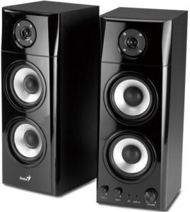 Głośniki komputerowe Genius 2.0 SP-HF1800A Black Wood (31730908100)