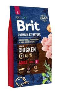 Sucha karma dla psa Brit Premium By Nature Adult Large 15kg