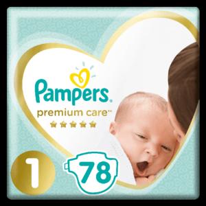 Pieluszki Pampers Premium Care
