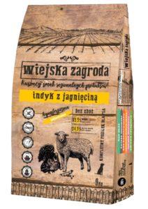 Karma dla psa Wiejska Zagroda indyk z jagnięciną 20kg