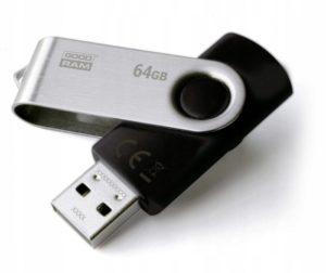 Pendrive GoodRAM Twister Black 64GB (UTS30640K0R11)