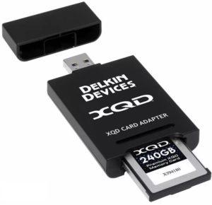 Czytnik kart pamięci Lexar Czytnik kart XQD Delkin Adapter 10 Gbps USB 3.1 (111302)
