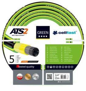 """Cellfast Wąż ogrodowy GREEN ATS 5 warstw 3/4"""" 50m (15-121)"""