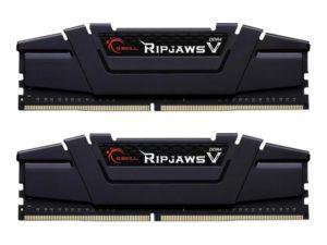 Pamięć RAM G.Skill RipjawsV 16GB (2x8GB) DDR4 3200MHz CL16 Black (F4-3200C16D-16GVKB)