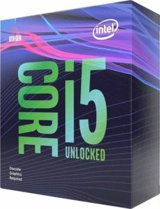 procesor Intel Core i5-9600KF 3,7GHz Box (BX80684I59600KF)