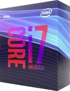 Intel Core i7-9700K 3,6GHz Box (BX80684I79700K)