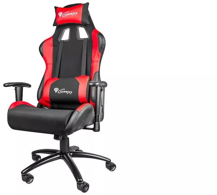 Fotel gamingowy Genesis Nitro 550 czarno-czerwony NFG0784