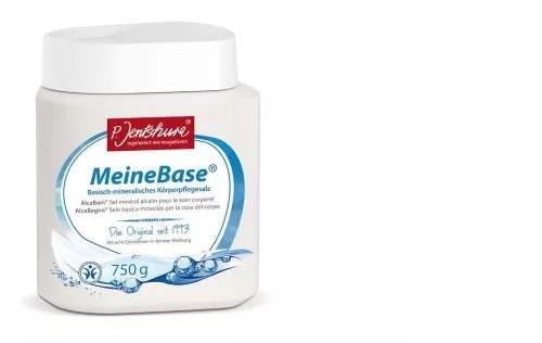 Jentschura MeineBase sól do kąpieli zasadowa 750 g