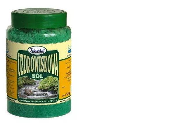 Zabłocka Sól Uzdrowiskowa 1,2kg