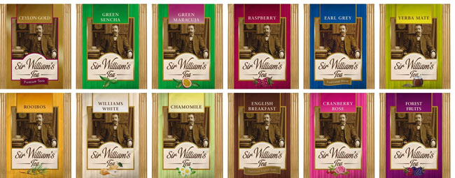 Sir Williams zestaw 50 saszetek mix smaków