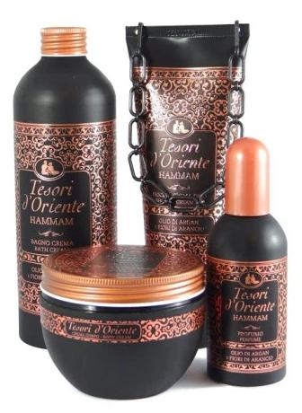 Super zestaw kosmetyków - Tesori d'Oriente Hammam