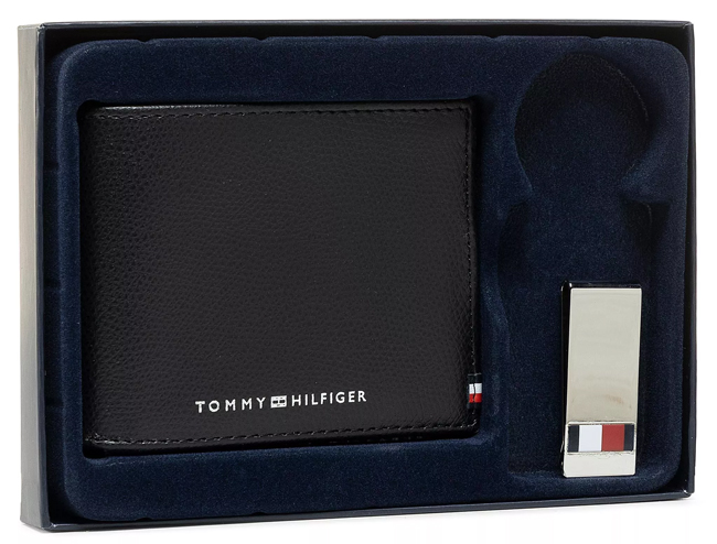 Zestaw upominkowy Tommy Hilfiger Business Mini Cc Wallet And Clip