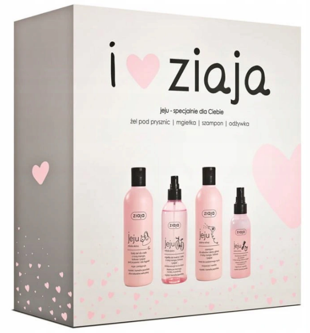 Ziaja Zestaw Kosmetyków Jeju Różowa