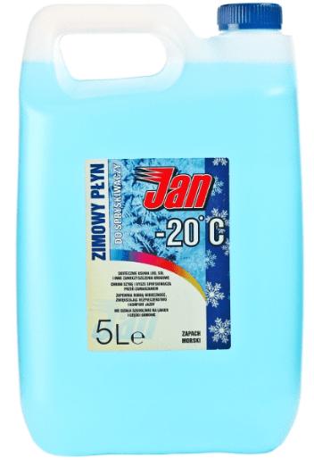 JAN 5l Zimowy płyn do spryskiwaczy