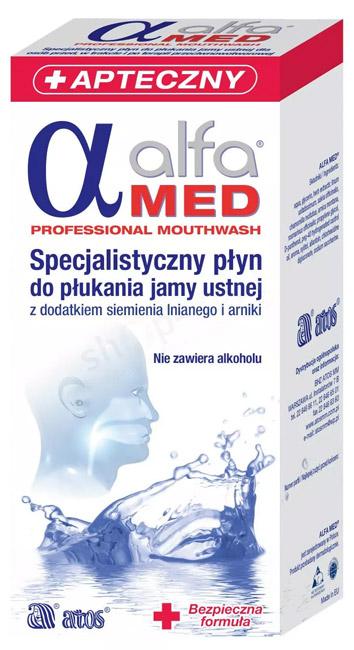 ALFA MED Professional 200 ml Specjalistyczny płyn do płukania jamy ustnej