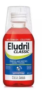 Eludril Classic 500 ml Płyn do płukania jamy ustnej