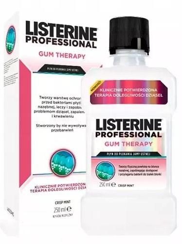 Listerine Professional Gum Therapy 250 ml Płyn do płukania jamy ustnej