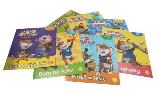 Książeczka dla dzieci Box Tupcio Chrupcio
