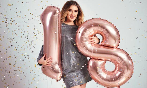 Ranking prezentów na osiemnastkę – 18 urodziny 2021
