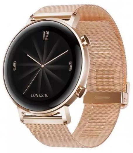 Smartwach damski Huawei Watch GT 2 Elegant 42mm Złoty