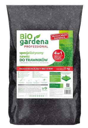 Nawóz Bio Gardena Nawóz Do Trawników Specjalistyczny Eko 25 Kg