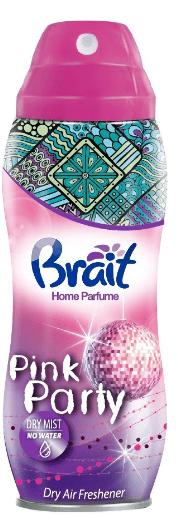 Odświeżacz Brait Dry Air Freshener Suchy odświeżacz powietrza Pink Party 300ml