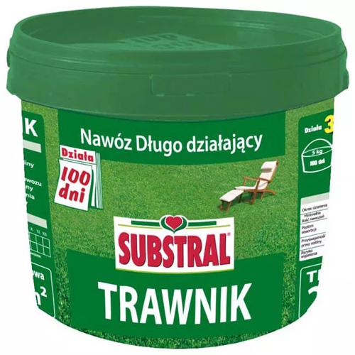Nawóz Substral 100-dni Regenerator do traw 5,0kg