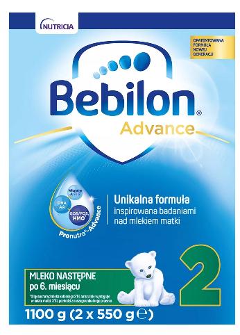 Bebilon Advance 2 Mleko następne po 6. miesiącu życia