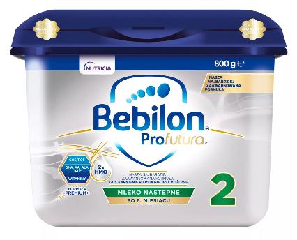 Mleko modyfikowane następne Bebilon Profutura 2 Specjalistyczne