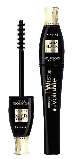 Bourjois Mascara Twist Up Volume Tusz do rzęs 52 Ultra Black