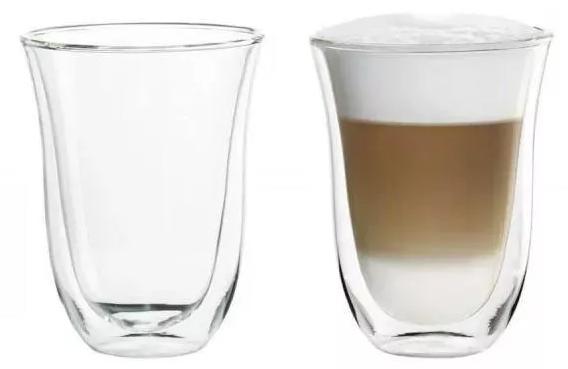 Szklanka termiczna De'Longhi Zestaw Do Latte Macchiato