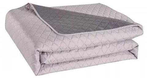 Narzuta na łóżko Decoking 240X260 Dk Starly Stalowy+Srebrny