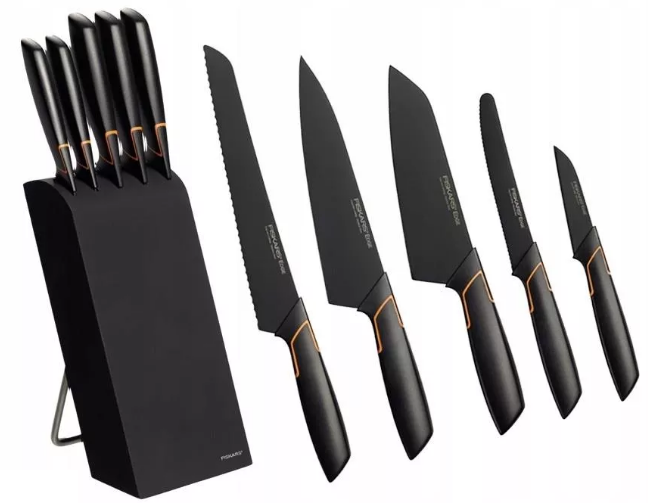 Fiskars Edge Zestaw 5 noży w bloku