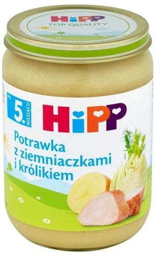 Obiadek Hipp Potrawka Z Ziemniakami I Królikiem 190g