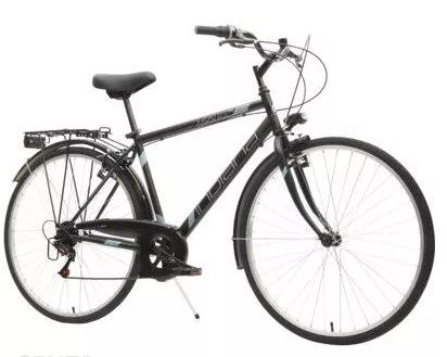Rower Indiana X-Road 1.0 Czarno Błękitny 28