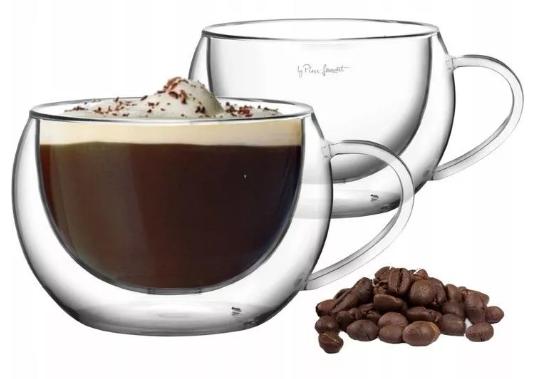 Lamart Vaso Szklanki termiczne do kawy cappuccino 2 szt. 270ml