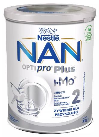 Mleko Nestle Nan Optipro Plus 2 HM-O Modyfikowane Dla Niemowląt Powyżej 6. Miesiąca