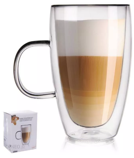 Szklanka termiczna Orion Z Podwójną Ścianką Do Kawy 0,43