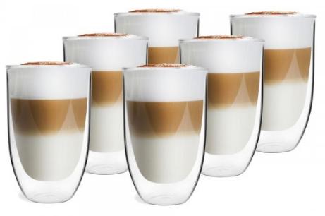 Szklanka Vialli Termiczne Kawa Drinki 350Ml 6 Szt