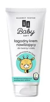 Krem nawilżający dla dzieci Aa Baby Soft Do Twarzy I Ciała 75Ml