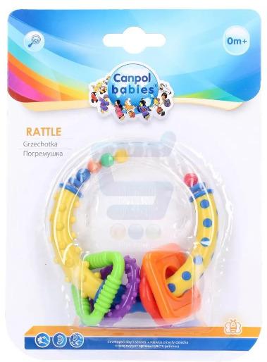 Canpol Babies Grzechotka Kolorowe Kształty (2/450)
