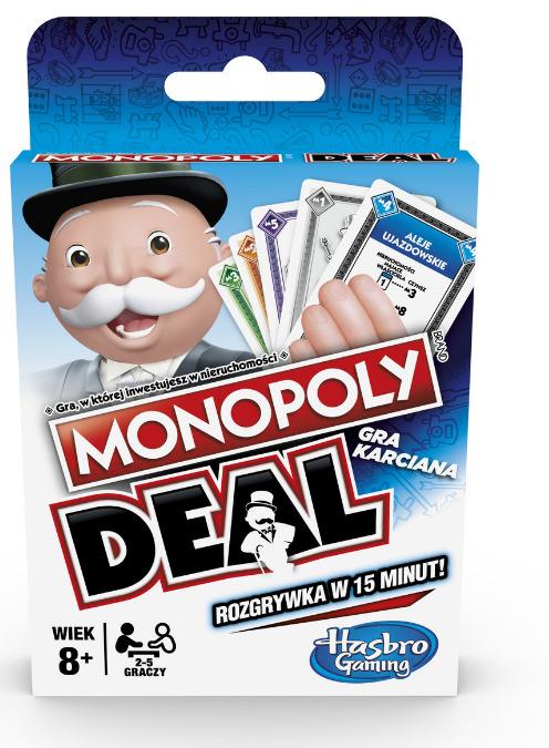Gra Hasbro Monopoly Deal