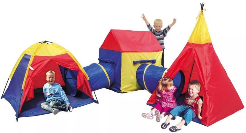 Namiot dla dzieci Iplay Plac Zabaw 5W1 Namiocik Domek Wigwam
