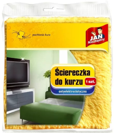 Jan Niezbędny Ściereczka Do Kurzu (1 Szt.) Antyelektrostatyczna