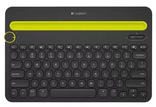 Logitech K480 Black-Yellow (920-006366)