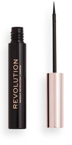 Eyeliner w płynie Makeup Revolution Super Flick odcień Black 4,5ml