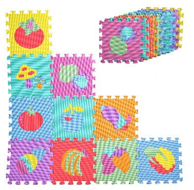 Puzzle Malis Piankowe Owoce