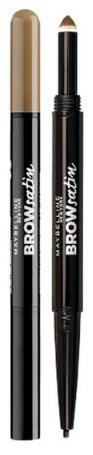 Kredka do brwi Maybelline Brow Satin Duo Pencil Medium Brown 0,6G