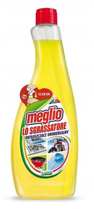 Odplamiacz do prania Meglio (Zapas) Uniwersalny Odplamiacz Odtłuszczacz 750Ml